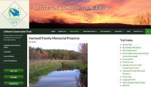 Screenshot of LCT Website